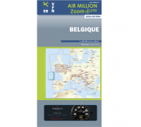 Air Million VFR Karte Belgien 2020