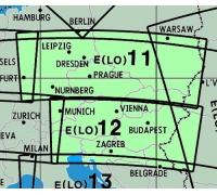 Enroute Chart E(LO)11/12 Deutschland, Österreich