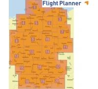 Flight Planner / Sky-Map Deutsche Generalkarte Nord und Süd