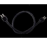 Микрофонный кабель с 2 штекерами U173 / U, длиной 38 см