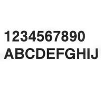 Буквы самоклеящиеся, высота 30 см.