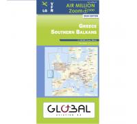 Air Million VFR Karte Griechenland Nord & Süd 2020