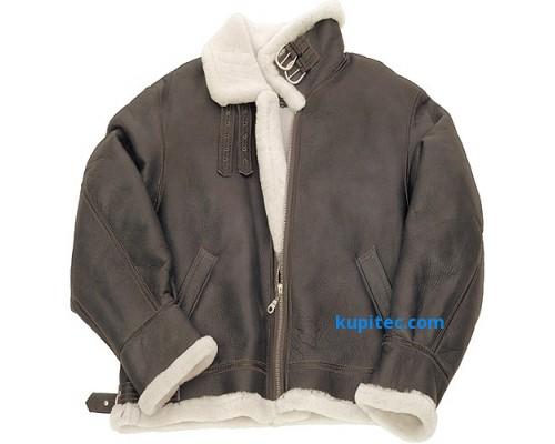 """Куртка для пилотов из овечьей кожи """"Army Air Force B3"""""""