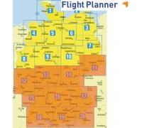 Flight Planner / Sky-Map Deutsche Generalkarte Süd