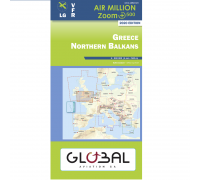 Air Million VFR Karte Griechenland Nord 2020