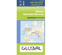 Air Million VFR Karte Griechenland Süd 2020