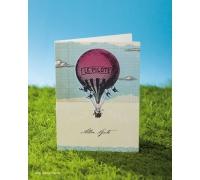 "Сложенная открытка ""Best Wishes"""