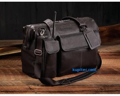 "Кожаная сумка для пилотов ""Adventure The Gann"" от Lightspeed"