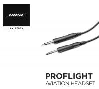 Кабель для гарнитуры Bose ProFlight 2, стандартный авиационный штекер