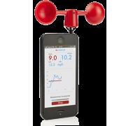Smartphone und Tablet Windmesser