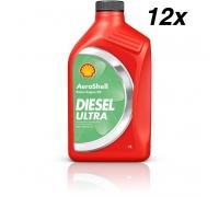 Масло AeroShell Oil Diesel Ultra, упаковка 12 x 1