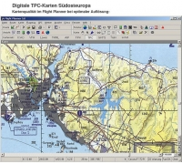 Flight Planner / Sky-Map TPC-Karten Süd-Ost Euro
