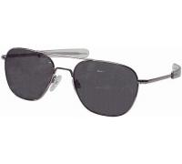 Солнцезащитные очки AO Original Pilot Sunglasses®, ширина линзы 52 мм, рамка матовый хром