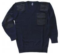 Пуловер Бундесвера, V-образный вырез