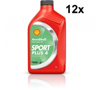 Масло AeroShell Öl Sport Plus 4, упаковка 12 x 1 литр
