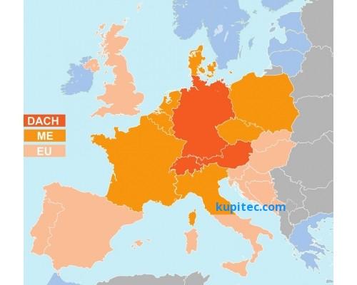 Flight Planner / Sky-Map Kartenpaket Deutschland und Nachbarländer