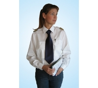 """Рубашка """"Pilot"""" женская с длинным рукавом"""