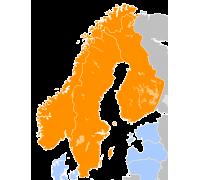 Flight Planner / Sky-Map Kartenpaket Skandinavien