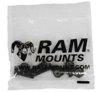 RAM MOUNT Schrauben-Set für Basisplatte (rund)