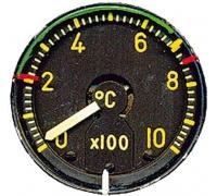 Индикатор температуры выхлопных газов