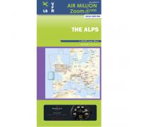 Air Million VFR Karte Alpen 2020
