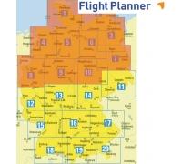 Flight Planner / Sky-Map Deutsche Generalkarte Nord