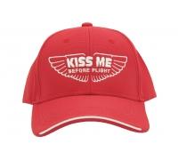 Бейсболка KISS ME BEFORE FLIGHT