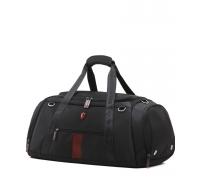Спортивная сумка Krimcode Duffel Bag - объем 50 литров, черная (KSTL01-1N0SM) Krimcode